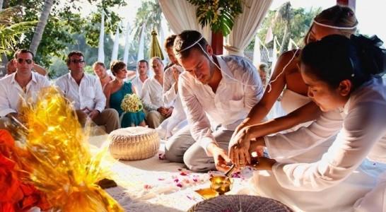 Buddhist marriage in Thailand