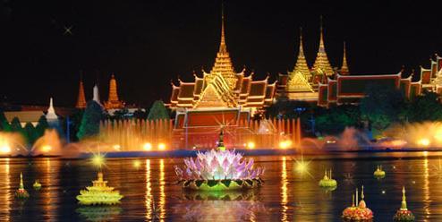 Loy Krathong – Festival de lumières Thai