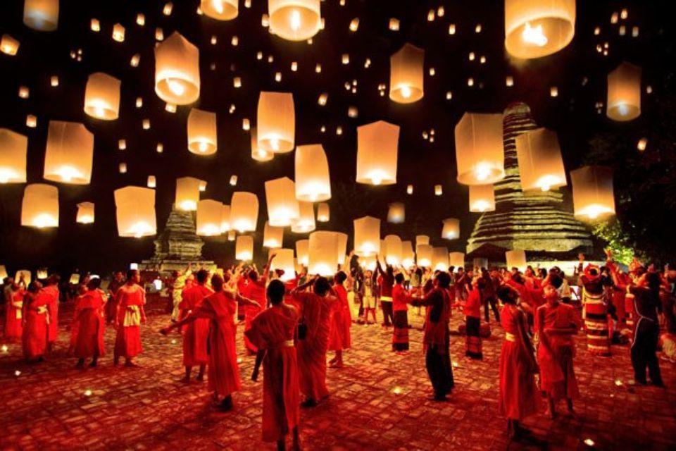 lanternes en thailande