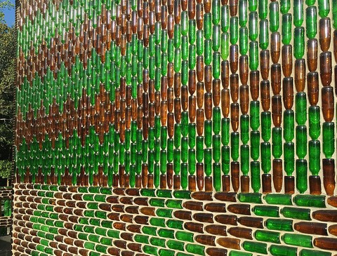 The Million Bottles Temple in Sisaket