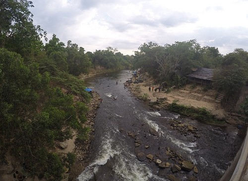 Lam Po Dam Tubing in Kalasin.