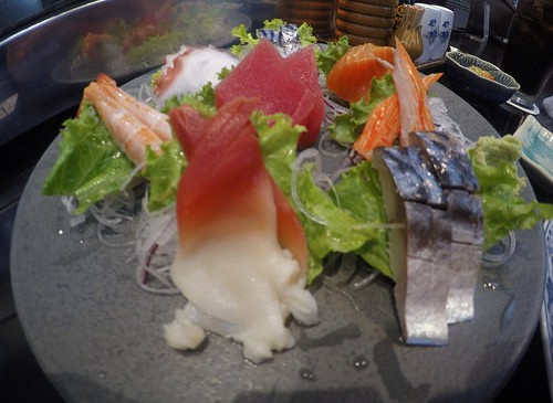 The most expensive sashimi in Korat!