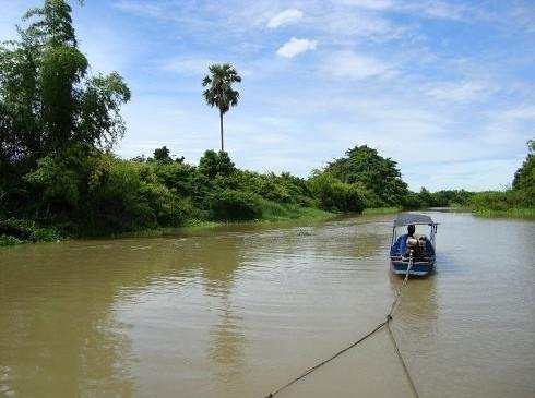 Boat trip in Korat