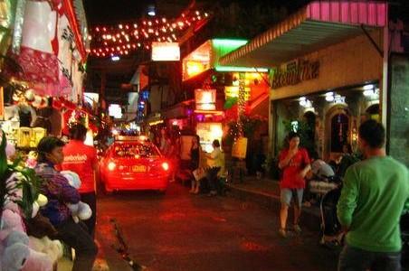 Patpong district in Bangkok