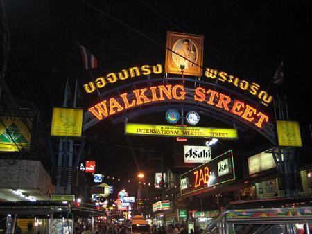 Walking street in Pattaya